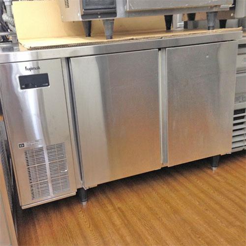 【中古】冷蔵コールドテーブル フジマック FRT-1275KP 幅1200×奥行750×高さ800 【送料別途見積】【業務用】