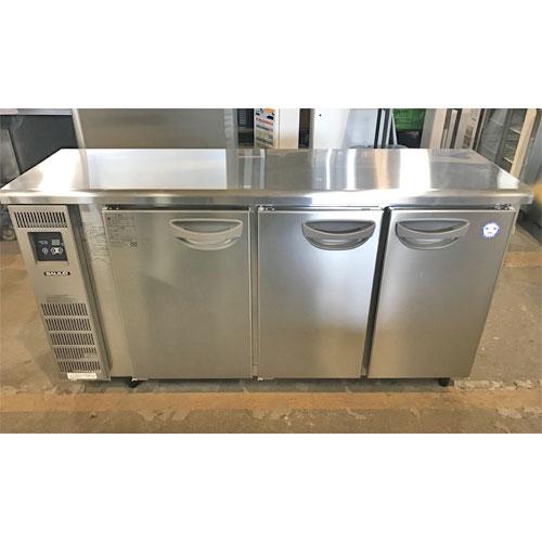 【中古】冷蔵コールドテーブル フクシマガリレイ(福島工業) TMU-50RE2 幅1500×奥行450×高さ800 【送料無料】【業務用】