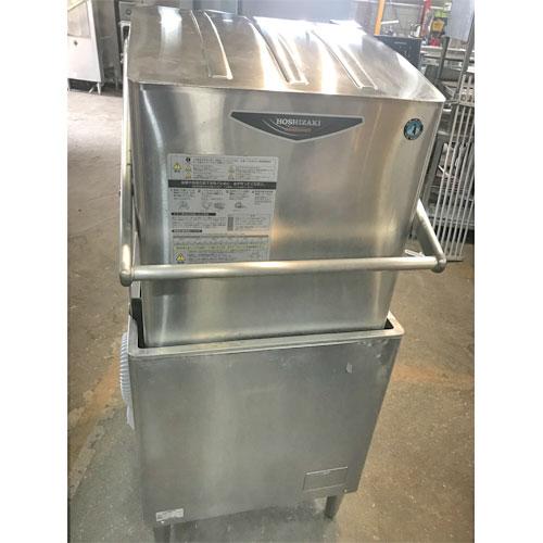 【中古】食器洗浄機 ホシザキ JWE-580UA 幅640×奥行655×高さ1432 三相200V 60Hz専用 【送料無料】【業務用】