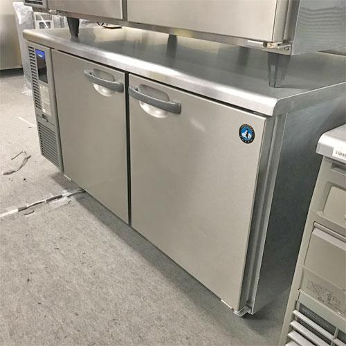 【中古】冷蔵コールドテーブル ホシザキ RT-150SDF-E 幅1500×奥行750×高さ800 【送料別途見積】【業務用】