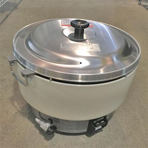 【中古】ガス炊飯器 4升 リンナイ RR-40S1 幅525×奥行481×高さ408 LPG(プロパンガス) 【送料無料】【業務用】