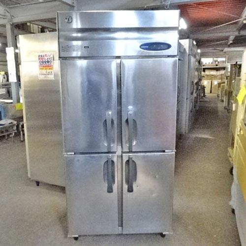 【中古】縦型冷凍冷蔵庫 ホシザキ HRF-90LZT3 幅900×奥行650×高さ1900 三相200V 【送料別途見積】【業務用】