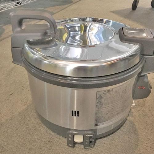 【中古】ガス炊飯器 パロマ PR-3200S-1 幅438×奥行360×高さ348 都市ガス 【送料無料】【業務用】