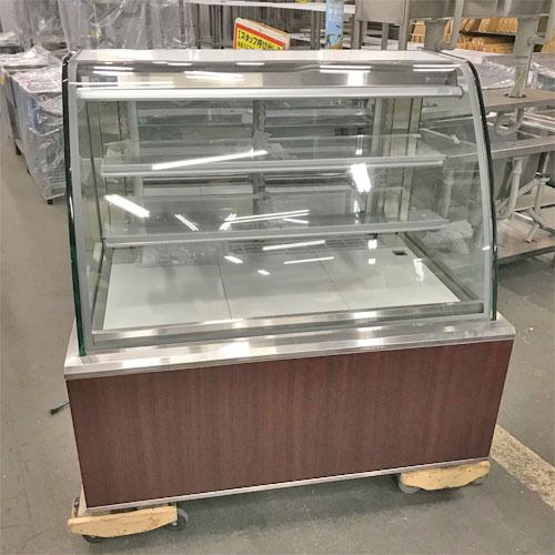 【中古】冷蔵ケーキショーケース ダイヤ冷ケース PDT13 幅1200×奥行800×高さ1180 三相200V 【送料別途見積】【業務用】