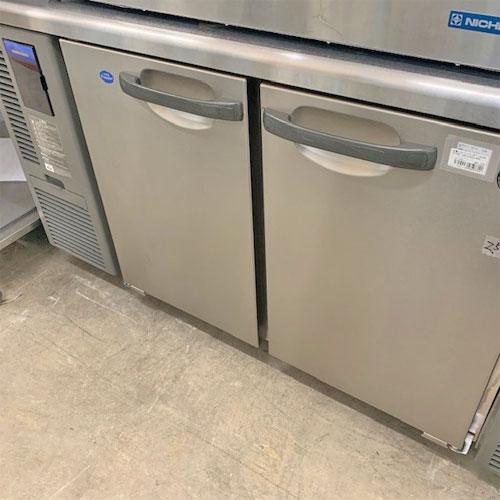 【中古】冷蔵コールドテーブル ホシザキ RFT-120SNF 幅1200×奥行600×高さ800 【送料別途見積】【業務用】