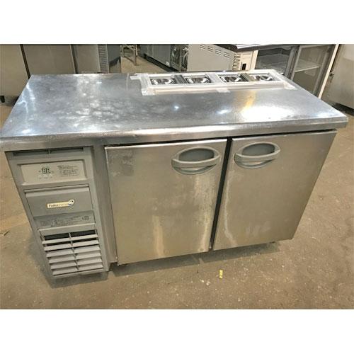 【中古】冷蔵サンドイッチコールドテーブル フクシマガリレイ(福島工業) YSC-120RE-B 幅1200×奥行600×高さ800 【送料別途見積】【業務用】