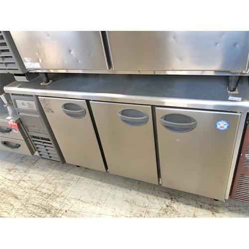 【中古】冷蔵コールドテーブル フクシマ YRC-150RE2 幅1500×奥行600×高さ800 【送料別途見積】【業務用】