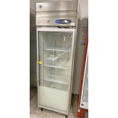 【中古】冷凍リーチインショーケース ホシザキ FS-63X3-1 幅625×奥行800×高さ1950 三相200V 【送料別途見積】【業務用】