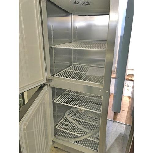 【中古】縦型冷凍庫 ホシザキ HR-63AT 幅625×奥行650×高さ1910 【送料別途見積】【業務用】
