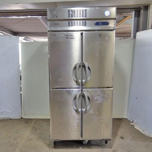【中古】縦型冷蔵庫 フクシマガリレイ(福島工業) URN-090RM6-F 幅900×奥行650×高さ1950 【送料別途見積】【業務用】