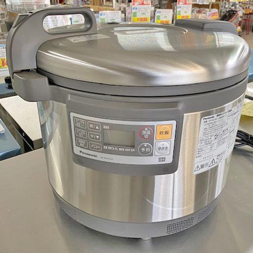 【中古】IHジャー炊飯器 パナソニック(Panasonic) SR-PGC54A 幅502×奥行429×高さ410 三相200V 【送料別途見積】【業務用】