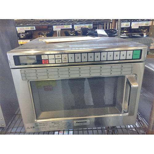 【中古】電子レンジ パナソニック(Panasonic) NE-1801 幅420×奥行470×高さ340 三相200V 【送料別途見積】【業務用】