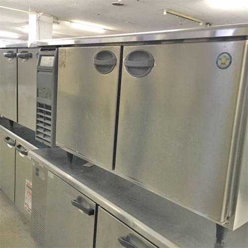 【中古】冷蔵コールドテーブル フクシマガリレイ(福島工業) AYC-150RM-F 幅1500×奥行600×高さ800 【送料別途見積】【業務用】