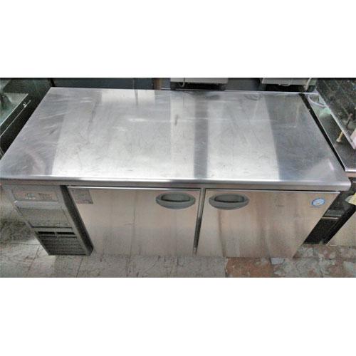 【中古】冷蔵コールドテーブル フクシマガリレイ(福島工業) YRW-150RM2 幅1500×奥行750×高さ800 【送料別途見積】【業務用】