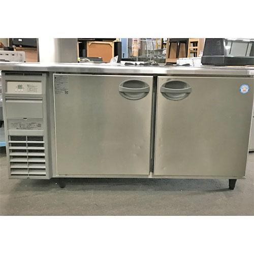 【中古】冷蔵コールドテーブル フクシマガリレイ(福島工業) YRC-150RM2-F 幅1500×奥行600×高さ800 【送料別途見積】【業務用】