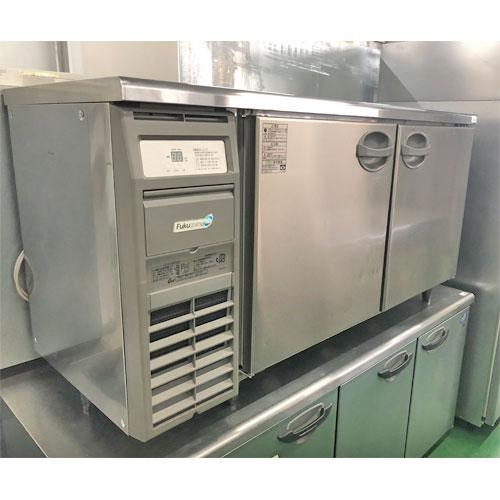 【中古】冷蔵コールドテーブル フクシマガリレイ(福島工業) YRC-150RM 幅1500×奥行600×高さ800 【送料別途見積】【業務用】