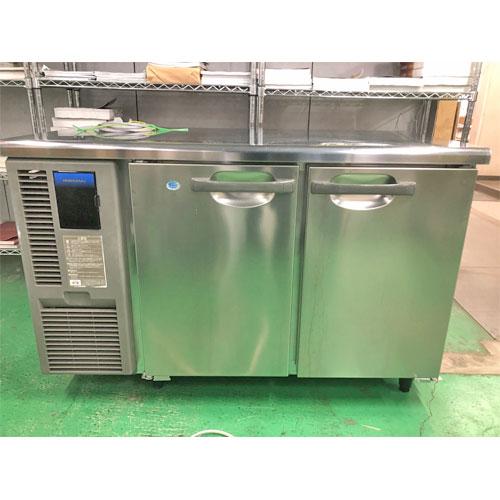 【中古】冷凍冷蔵コールドテーブル ホシザキ RFT-120MNF 幅1200×奥行600×高さ800 【送料別途見積】【業務用】