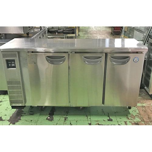 【中古】冷蔵コールドテーブル フクシマガリレイ(福島工業) TUM-50RM2-F 幅1500×奥行450×高さ800 【送料別途見積】【業務用】