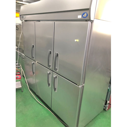 【中古】縦型冷蔵庫 パナソニック(Panasonic) SRR-K1883 幅1785×奥行800×高さ1950 三相200V 【送料別途見積】【業務用】