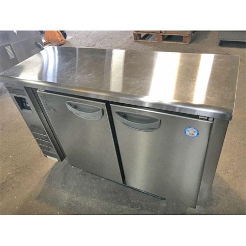 【中古】冷蔵コールドテーブル フクシマガリレイ(福島工業) TMU-40RM2-F 幅1200×奥行450×高さ800 【送料別途見積】【業務用】
