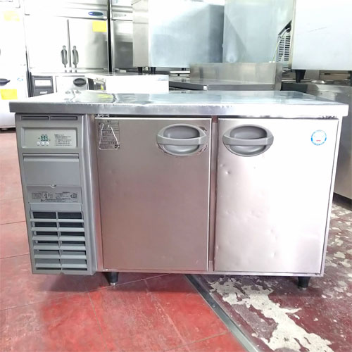 【中古】冷蔵コールドテーブル フクシマガリレイ(福島工業) YRW-120RM2 幅1200×奥行750×高さ800 【送料別途見積】【業務用】
