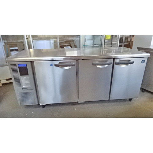 【中古】冷凍冷蔵コールドテーブル ホシザキ RFT-180SDF 幅1800×奥行750×高さ800 【送料別途見積】【業務用】