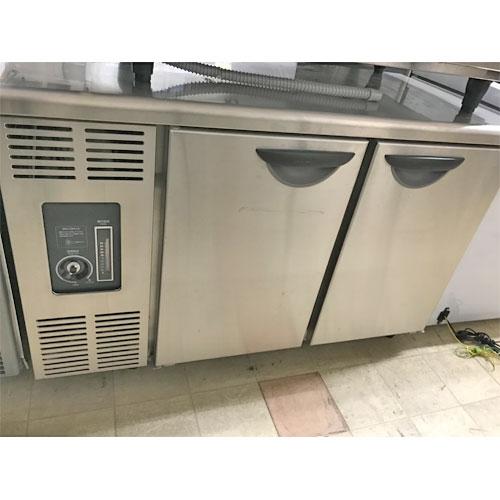 【中古】冷蔵コールドテーブル(自然対流) パナソニック(Panasonic) SUC-N1261J 幅1200×奥行600×高さ800 【送料別途見積】【業務用】