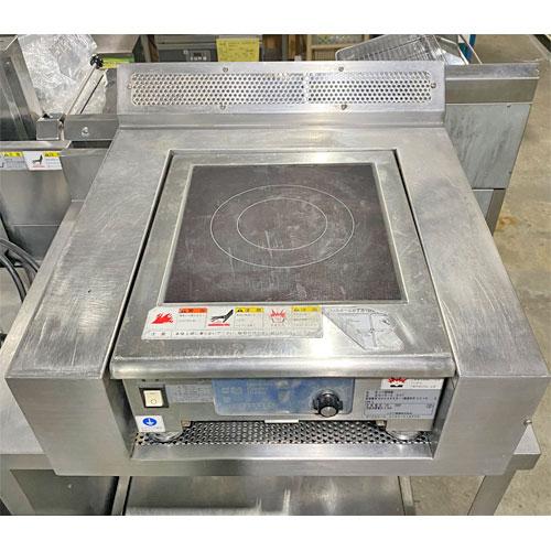 【中古】卓上電磁調理機 ニチワ電機 MIR-2.5NT 幅500×奥行600×高さ200 【送料別途見積】【業務用】