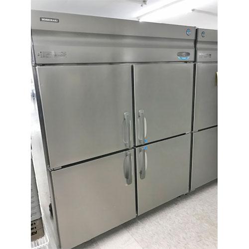 【中古】インバータ制御縦型冷凍冷蔵庫(2凍2蔵) ホシザキ HRF-150XF 幅1500×奥行800×高さ1890 【送料別途見積】【業務用】