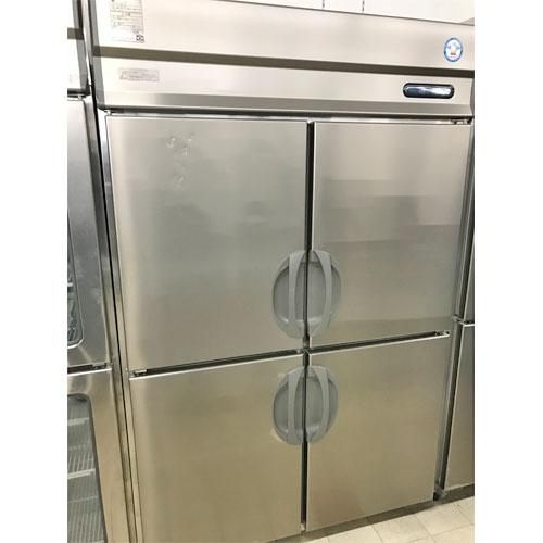 【中古】縦型冷蔵庫 ピラーレス フクシマガリレイ(福島工業) ARD-120RMD-F 幅1200×奥行800×高さ1950 【送料別途見積】【業務用】