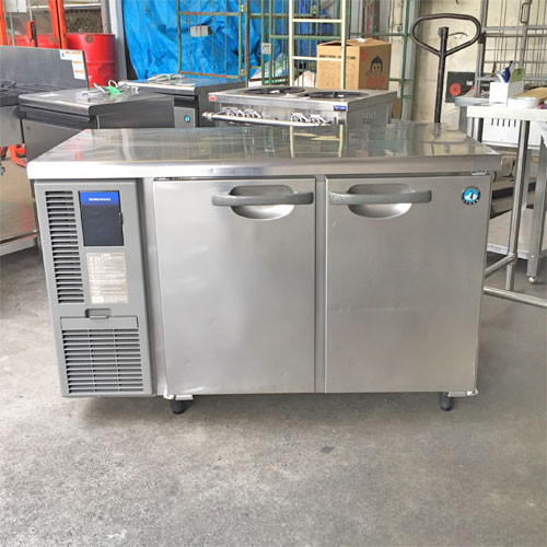 【中古】冷蔵コールドテーブル ホシザキ RI-120MNF 幅1200×奥行600×高さ790 【送料別途見積】【業務用】