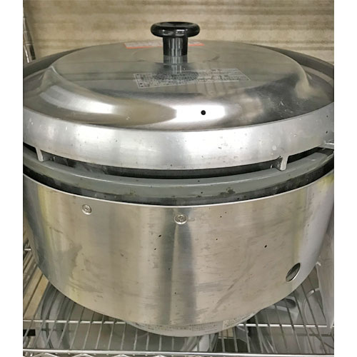 【中古】ガス炊飯器 リンナイ RR-50S2 幅543×奥行506×高さ436 都市ガス 【送料別途見積】【業務用】