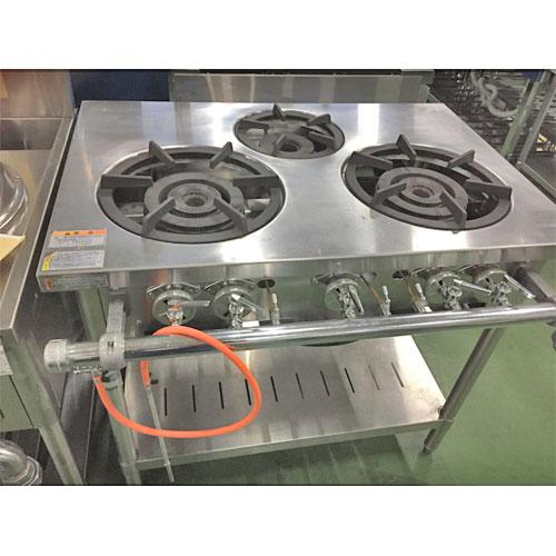 【中古】ガステーブル タニコー S-TGT-90 幅900×奥行600×高さ790 都市ガス 【送料別途見積】【業務用】