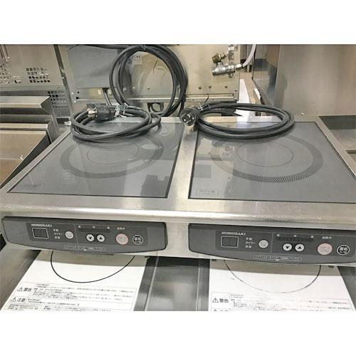 【中古】IH調理器 ホシザキ HIH-22CE 幅700×奥行450×高さ150 【送料別途見積】【業務用】
