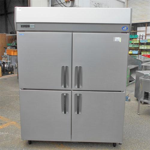 【中古】4ドア縦型冷凍冷蔵庫 パナソニック(Panasonic) SRR-K1561CS 幅500×奥行650×高さ1930 【送料別途見積】【業務用】