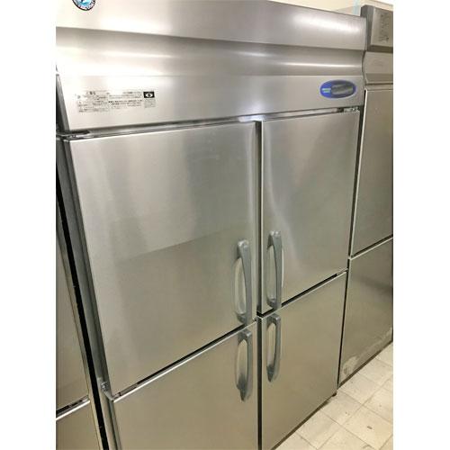 【中古】縦型冷蔵庫 ピラーレス ホシザキ HR-120Z-ML 幅1200×奥行800×高さ1910 【送料別途見積】【業務用】
