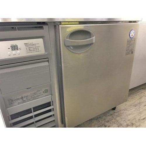 【中古】冷蔵コールドテーブル フクシマガリイ(福島工業) YRW-090RM2 幅900×奥行750×高さ800 【送料別途見積】【業務用】