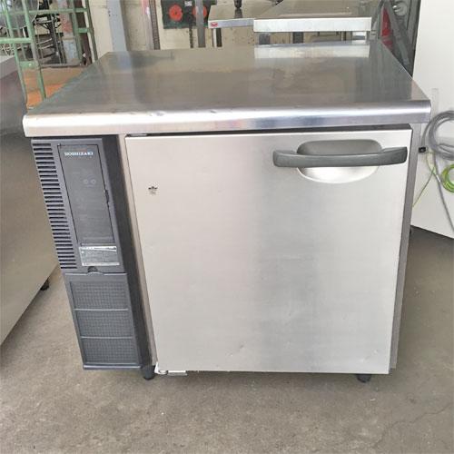 【中古】冷蔵コールドテーブル ホシザキ RT-80SNE1 幅800×奥行650×高さ795 【送料別途見積】【業務用】