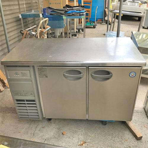 【中古】冷蔵コールドテーブル フクシマガリレイ(福島工業) YRC-120RM2 幅500×奥行600×高さ800 【送料別途見積】【業務用】