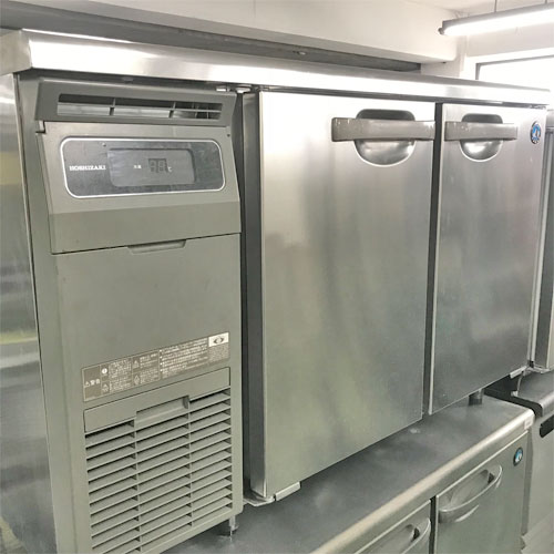 【中古】冷蔵コールドテーブル ホシザキ RT-120MNCG 幅1200×奥行600×高さ800 【送料別途見積】【業務用】