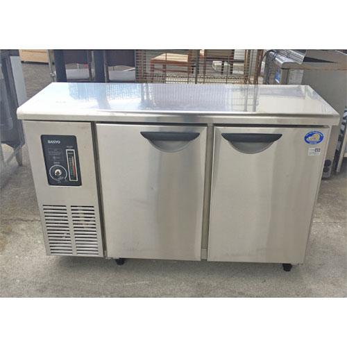 【中古】冷蔵コールドテーブル パナソニック(Panasonic) SUC-N1241J 幅1200×奥行450×高さ800 【送料別途見積】【業務用】