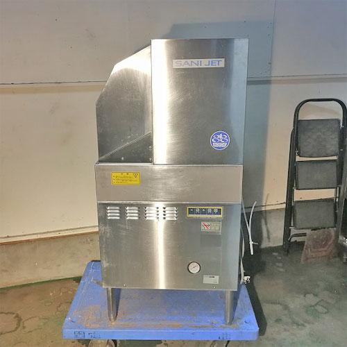 【中古】食器洗浄機 日本洗浄機 SD64EA3 幅500×奥行600×高さ1250 三相200V 50Hz専用 【送料別途見積】【業務用】