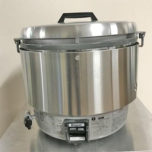 【中古】ガス炊飯器 リンナイ RR-30S2 幅466×奥行438×高さ442 都市ガス 【送料無料】【未使用品】【業務用】