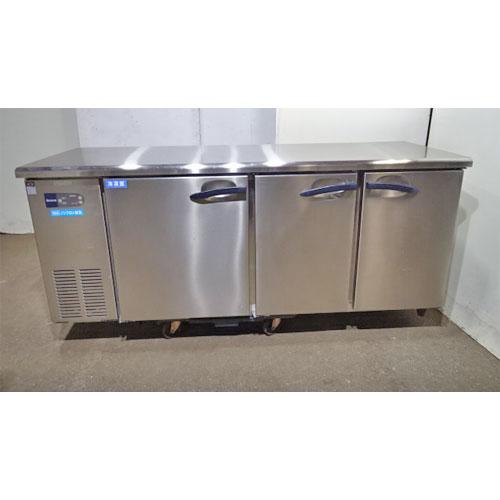 【中古】冷蔵コールドテーブル 大和冷機 6061S-A 幅1800×奥行600×高さ800 【送料無料】【業務用】