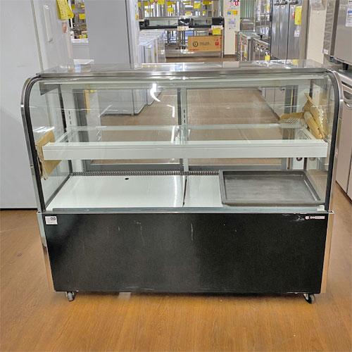【中古】対面冷蔵ショーケース サンデン・リテールシステム TSR-B120X-D 幅1200×奥行493×高さ1000 【送料無料】【業務用】