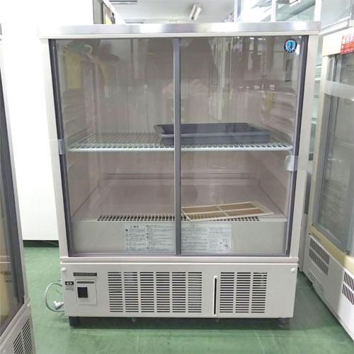 【中古】冷蔵ショーケース ホシザキ SSB-85CL2 幅850×奥行550×高さ1080 【送料別途見積】【業務用】