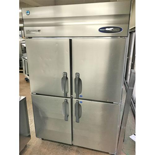 【中古】縦型冷凍冷蔵庫 ホシザキ HRF-120ZFT3 幅1200×奥行650×高さ1890 三相200V 【送料無料】【業務用】