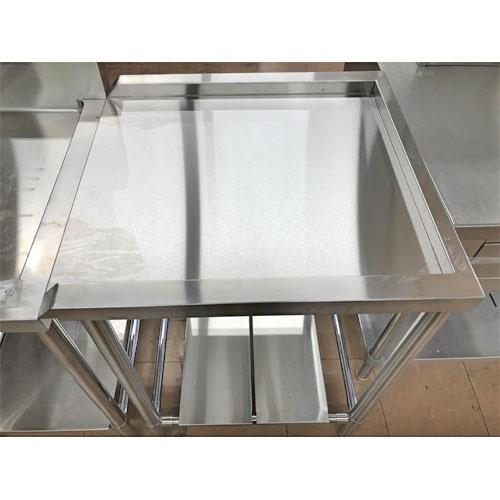【中古】クリーンテーブル 幅630×奥行600×高さ840 【送料無料】【業務用】