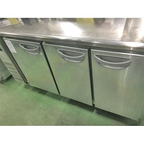 【中古】冷凍冷蔵コールドテーブル フクシマガリレイ(福島工業) TMU-51PE 幅1500×奥行450×高さ840 【送料別途見積】【業務用】