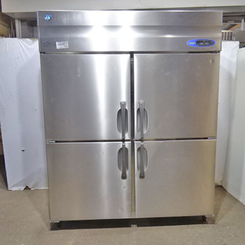 【中古】縦型冷凍冷蔵庫 ホシザキ HRF-150ZF3 幅1500×奥行800×高さ1890 三相200V 【送料別途見積】【業務用】